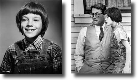 Scout and Atticus from To Kill a Mockingbird