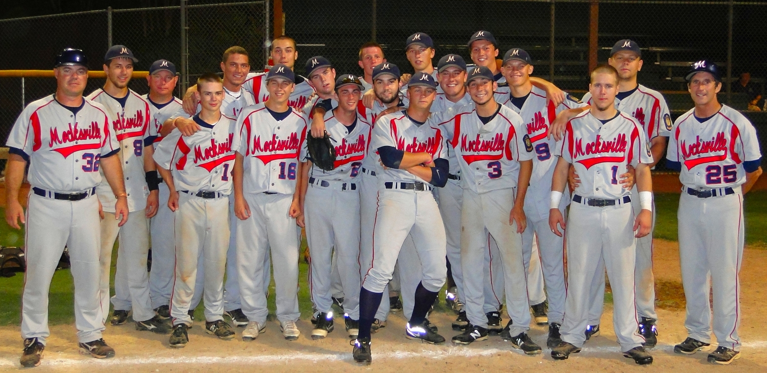 2012 Mocksville-Davie American Legion Baseball Team