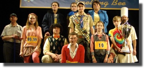 putnam-county-spelling-bee-davie-county-brock-players-cast