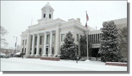 Mocksville Snowstorm Feb 2014