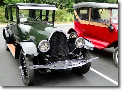 Town of Bermuda Run and Hampton Inn Host Vintage Automobile Tour