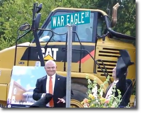 War Eagle Drive - New Davie County High School