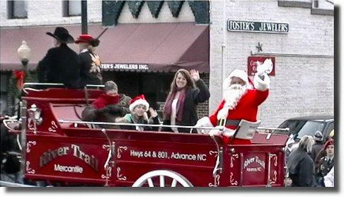 Mocksville Christmas Parade