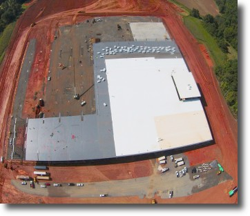Gildan-Mocksville-Under-Construction