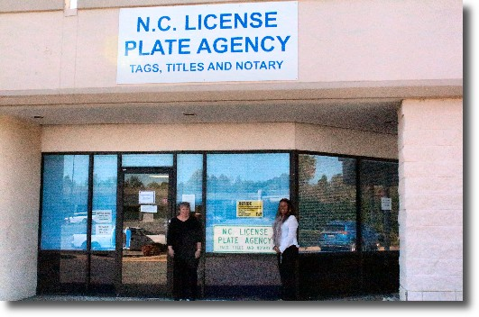 NC License Plate Agency in Mocksville
