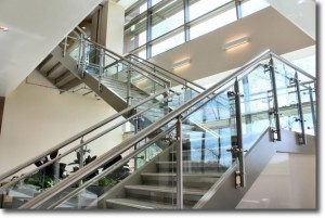 Davie Medical Center Staircase