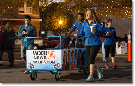Bed Race 2016 WXII