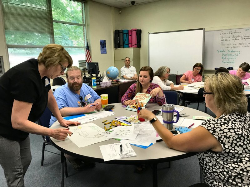 Davie County Schools Read to Achieve Camp Summer 2018 01