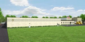 Artist Rendering of completed Brakebush Brothers plant in Mocksville