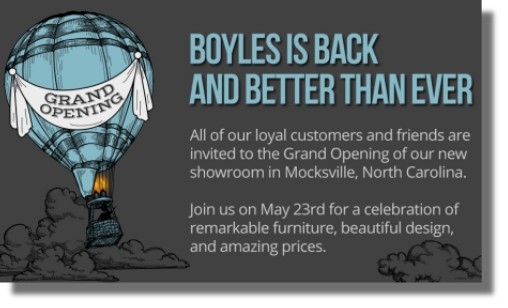 Boyles Grand Re Opening