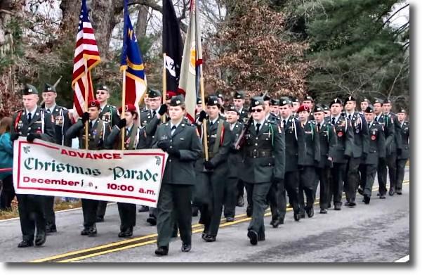 Advance Christmas Parade 2020 advance christmas paradee anchor   Davie County Blog