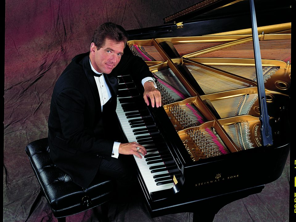 Pianist to the Presidents David Osborne and his Steinway piano