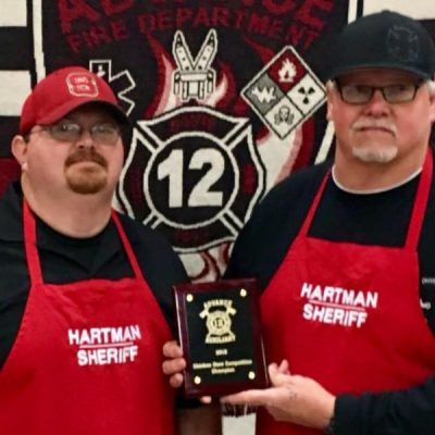 2018 Chicken Stew Champions of Advance North Carolina