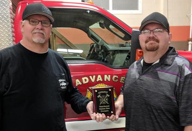 2019 Advance North Carolina Chicken Stew Competition Champions Del & Chad Cooper