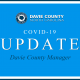 NC Executive Order 120 update from Davie County Manger