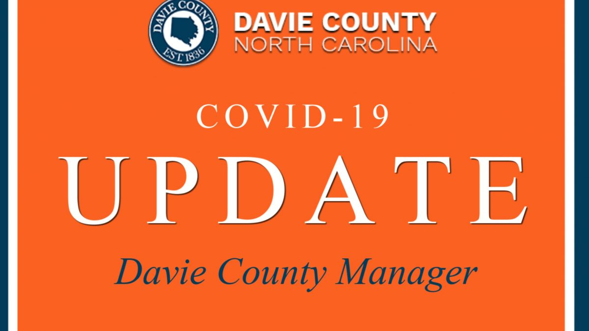 amending State of Emergency Declaration due to Davie County resident testing positive for the COVID-19 virus