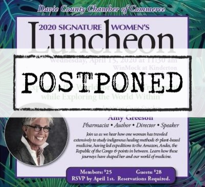 Signature Women's Luncheon Date postponed