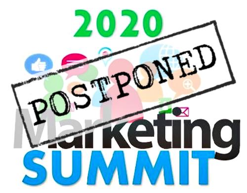 Digital Marketing Summit Postponed