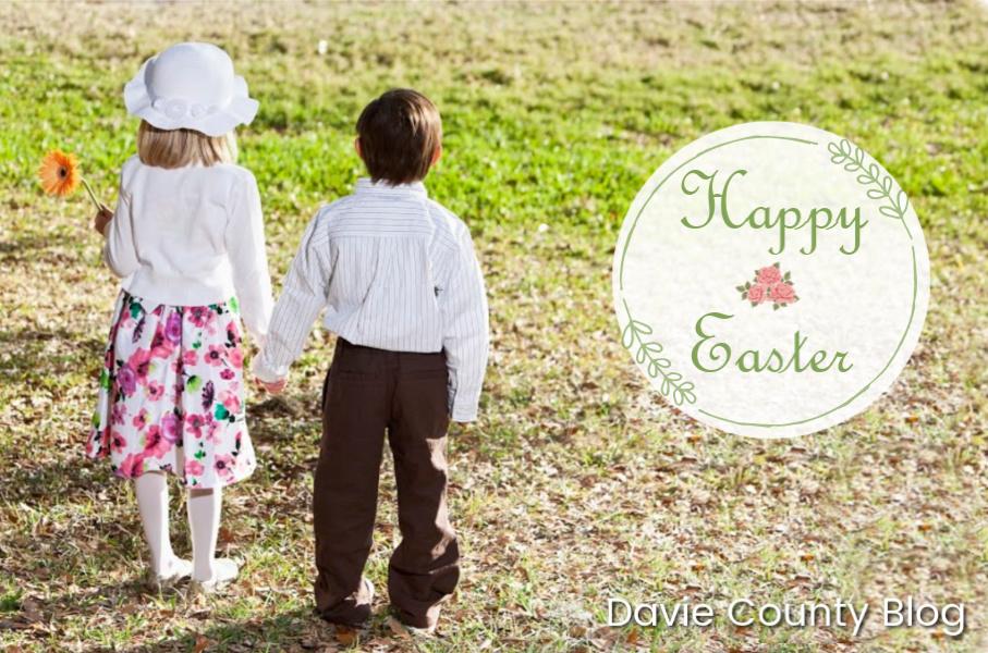 Happy Easter from Davie County North Carolina