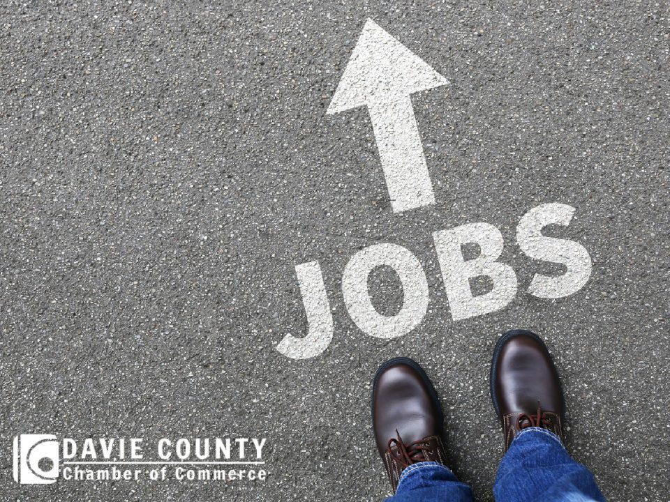 Davie County Chamber of Commerce will host an outdoor job fair at the Chamber on Friday, October 9th, from 11:30 am – 3:30 pm. Job seekers can meet with local industries and may secure jobs on the day of the event.